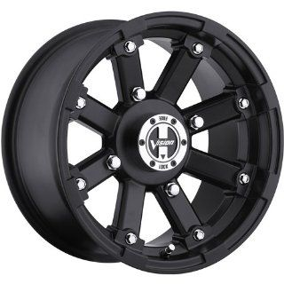 Vision Lock Out 14 Matte Black Wheel / Rim 4x136 with a 61mm Offset and a 110.5 Hub Bore. Partnumber 393 148136MB2 Automotive