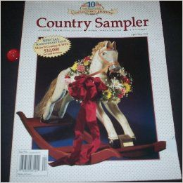 Country Sampler April/May 1994 (Volume 11, Number 2) Collector's Edition: Karen Fox: Books