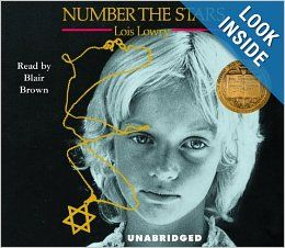 Number the Stars: Lois Lowry, Blair Brown: 9781400085552: Books