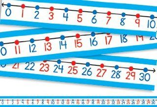 * STUDENT NUMBER LINES 30/PK Toys & Games