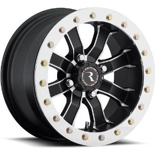 Raceline RT Mamba Beadlock 12 Black Wheel / Rim 4x156 with a 0mm Offset and a Hub Bore. Partnumber A7127056 43: Automotive