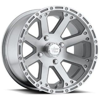 Vision Outback 12 Machined Wheel / Rim 4x136 with a 2.5mm Offset and a 110.5 Hub Bore. Partnumber 159 127137M4 Automotive