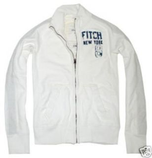 Abercrombie & Fitch Panther Gorge White Sweatjacket (S) at  Men�s Clothing store