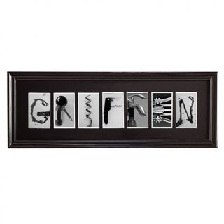 Personal Creations Wine Inspired Photography Framed Print   7 Letters