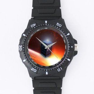 Custom Doctor Who Watches Black Plastic High Quality Watch WXW 1105: Watches
