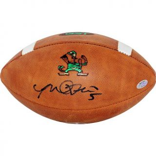 Steiner Sports Manti Te'o Signed Notre Dame Game Model Football