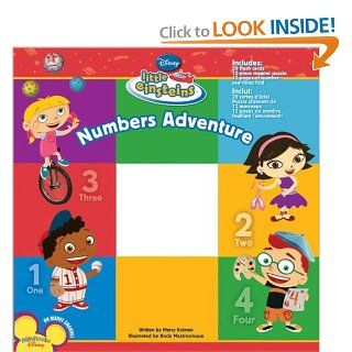 Disney's Little Einsteins: Numbers Adventure: Disney Book Group, Marcy Kelman, Disney Storybook Art Team: 9781423110095: Books