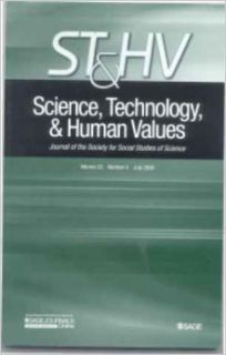 Science, technology, & Human Values [St&hv]  Journal for the Society of Social Studies of Science  Volume 33 Number 4 July 2008 (Volume 33): Susan Leigh Star, Geoffrey Bowker: Books
