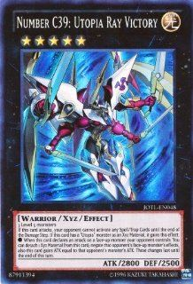 YuGiOh Number C39: Utopia Ray Victory JOTL EN048 ( Unlimited Ultimate): Toys & Games