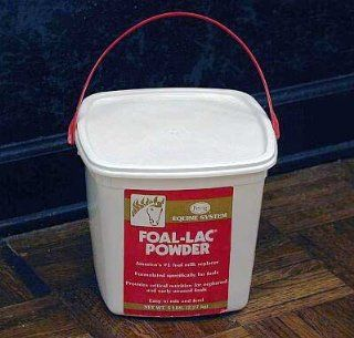 Foal Lac Powder Milk Replacer Horse Supplement 5Lbs: Sports & Outdoors
