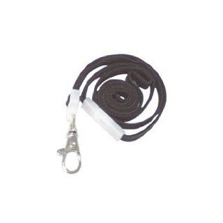"Deluxe Safety Lanyards, Lobster Claw Hook Style, 36"" Long, Black, 24/Box by ADVANTUS CORPORATION (Catalog Category: Labels, Label Makers, Tags & Stamps / Badges / Badge Holders): Office Products"