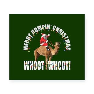 Merry Humpin Christmas Santa and Hump Day Camel Be by FunniestGift