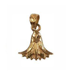 18K Egyptian Jewelry Pendants   Lotus Flower: Egypt7000: Jewelry