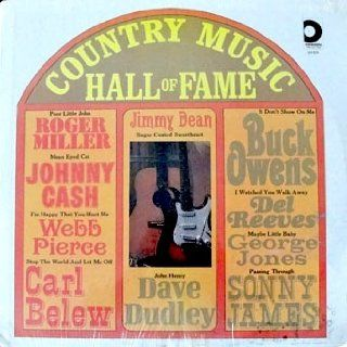 Country Music Hall Of Fame: Johnny Cash, Buck Owens, Webb Pierce, George Jones, Sonny James, Roger Miller & More, Tracks: Poor Little John, Mean Eyed Cat, John Henry, Passing Through, Maybe Little Baby, It Don't Show On Me & More: Music