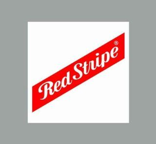 "5"" Red Stripe Ber Company Logo Sticker/decal : Other Products : Everything Else"