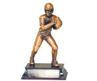 7 inch Small Pewter American Football Player Figurine Statue: Everything Else