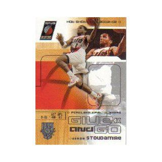 2002 03 Fleer Hot Shots #123 Damon Stoudamire/Rasheed Wallace: Sports Collectibles