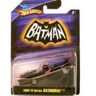 Hot Wheels Batman 1:50 Scale 1966 TV Series Batcycle Diecast: Toys & Games