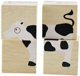 BeginAgain BuddyBlocks   Farm Animals Toys & Games