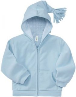 Sammi Poly Fleece Hoodie, Powder Blue, 3 6 months: Clothing