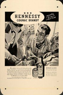 """Hennessy Cognac Brandy and Soda Combined Metal Poster Tin Plate Sign 16""""x 24""""   Prints"""
