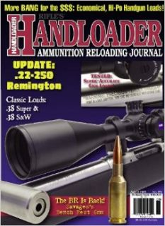 Handloader Magazine   August 2009   Issue Number 261: Dave Scovill, Brian Pearce, Charles E. Petty, Gil Sengel, Mike Venturino, Jr. R.H. VanDenburg, John Haviland, Ron Terrell, Ed Gilfillan, Clair Rees, Wolfe Publishing Company: Books