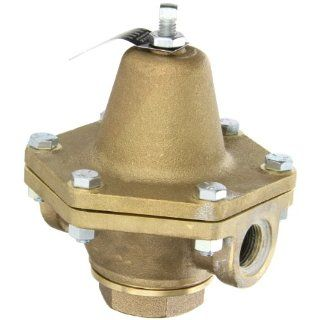 "Cash Valve 1874 0011 Bronze Pressure Regulator, 2   20 PSI Pressure Range, 3/4"" NPT Female: Industrial & Scientific"