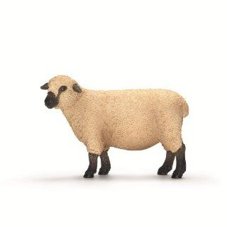 Schleich Domestic Animals Shropshire sheep: Toys & Games