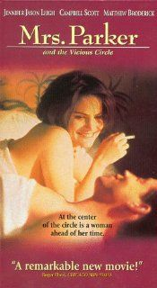 Mrs Parker & the Vicious Circle [VHS]: Jennifer Jason Leigh, Campbell Scott, Matthew Broderick, Peter Gallagher, Jennifer Beals, Andrew McCarthy, Wallace Shawn, Martha Plimpton, Sam Robards, Lili Taylor, James Le Gros, Gwyneth Paltrow, Alan Rudolph, Al
