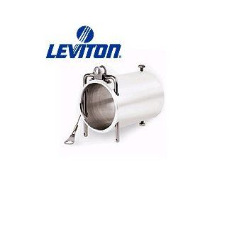 Leviton 49COP B 49 Series, Male or Female Plug, Coupler, Accessory, Industrial Grade, Rhino Hide Single Pole Connector, Blue   Electric Plugs