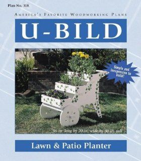 LAWN and PATIO PLANTER (Woodworking Project Paper Plan)