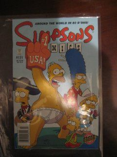 Simpsons Comics # 131: Around the World in 80 D'ohs: Bongo Comics Group: Books