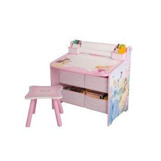 Disney Princess Art Desk With Storage Organization: Everything Else