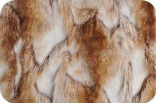 Faux Fake Fur Chinchilla Brandy Fox Copper Fabric By the Yard: Everything Else