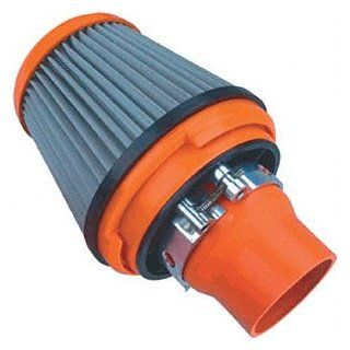 "APC 171095 2.5"" Universal Stainless Steel Mesh Air Filter with Quick Release Clamp: Automotive"