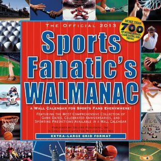 (12x12) Sports Fanatic Walmanac   2013 12 Month Calendar   Wall Calendars
