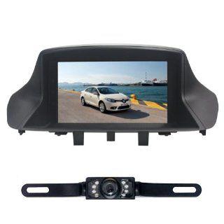 "Tyso For Renault Megane Ⅱ/Megane Ⅲ/Fluence 7"" CAR DVD Player GPS Navigation Navi Rear Camera iPod Bluetooth TV Radio FM Free Map CD8959R: GPS & Navigation"