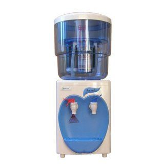 Hot and Cold Desktop Water Dispenser with Filter for Office and Home   Blue: Office Products