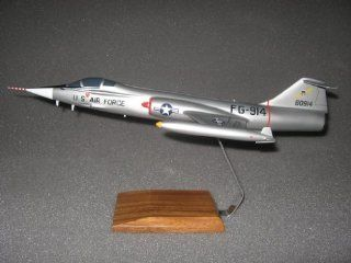 F 104 Starfighter Desktop Wood Model: Everything Else