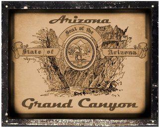 Grand Canyon sign / retro vintage antique style wall decor art 346