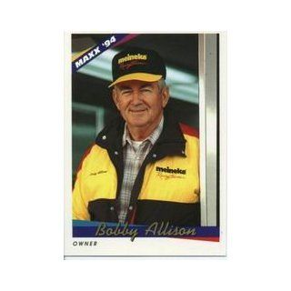 1994 Maxx #102 Bobby Allison: Sports Collectibles