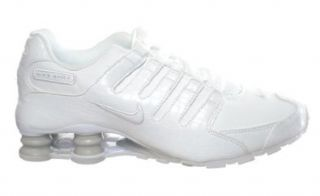 Nike Shox NZ SI Plus (GS) Big Kids' Running Shoes White/Grey White/Grey 317929 113 7: Shoes