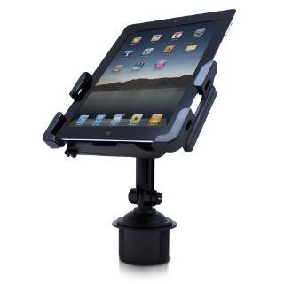 Satechi SCH 121 Cup Holder Mount for Smartphones & Tablets: iPad, iPad Mini/Air, Asus Eee Pad Transformer, Motorola Xoom, Samsung Galaxy Tab, Galaxy 10.1, Viewsonic Gtablet, Blackberry Playbook, HTC Flyer, iPhone, BlackBerry, Galaxy S4, S3, S2: Compute