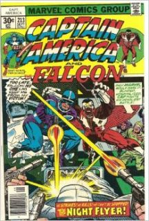 Captain America and the Falcon #213 (The Night Flyer!): Marvel Comics: Books