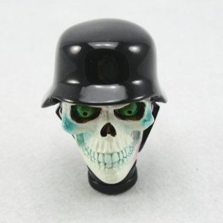 Neverland Universal Manual Gear stick Shift Shifter Lever Knob Wicked Carved Skull: Automotive