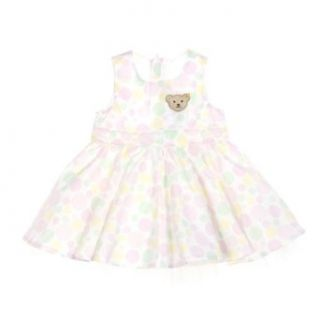 Steiff Baby Girl's Dress Bubble Gum 62 116 Size (68) Multicolored: Clothing