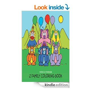 The Z Family Coloring Book eBook: Patricia Stevenson: Kindle Store