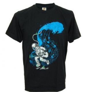 SODAtees underwater deep sea ROCK STAR diver Men's T SHIRT: Clothing