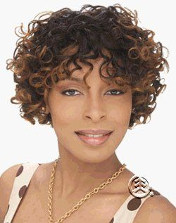 Harlem 125 Human Hair Wig Oprah Color 1B Health & Personal Care