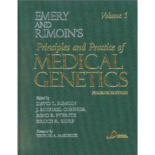 Emery and Rimoin's Principles and Practice of Medical Genetics e dition: Continually Updated Online Reference, 3 Volume Set, 5e (Principles and Practice of Medical Genetics (Emery & Rimoin)) (0000443068704): David L. Rimoin, J. Michael Connor MD  D